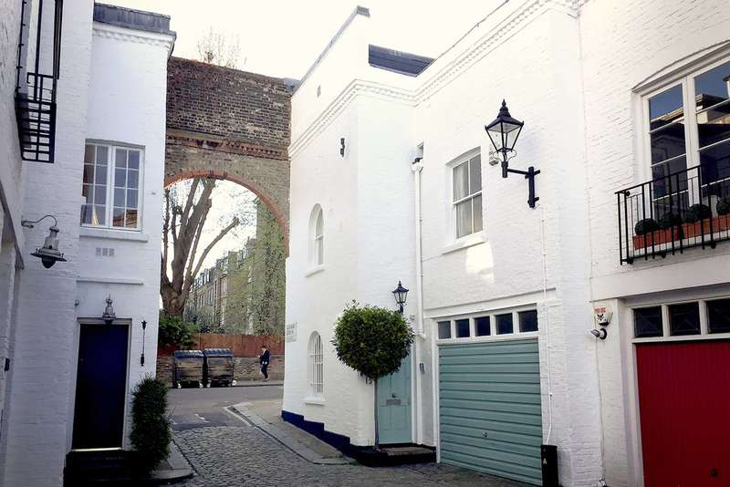 3 Bedrooms Mews House for sale in Elgin Mews South, Maida Vale, W9