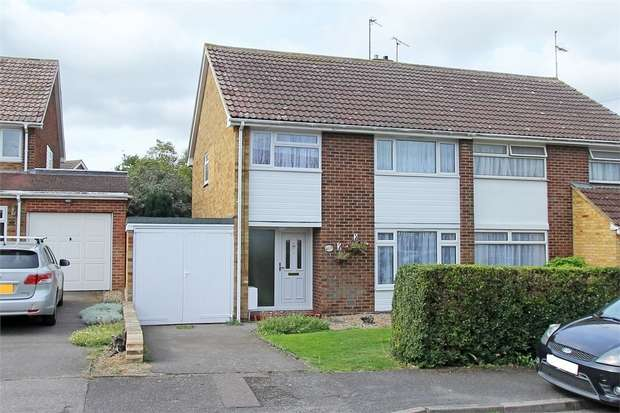 3 Bedrooms Semi Detached House for sale in Rivers Road, Teynham, Sittingbourne, Kent