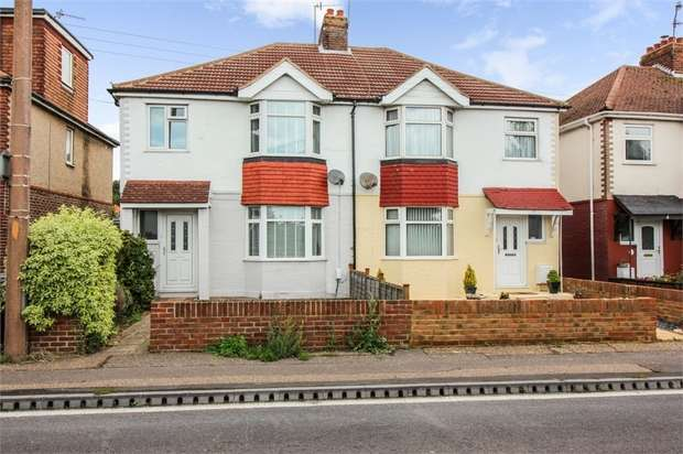 3 Bedrooms Semi Detached House for sale in Upper Brighton Road, Lancing, West Sussex