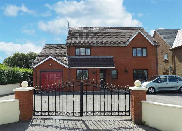5 Bedrooms Detached House for sale in Five Roads, Llanelli, Carmarthenshire