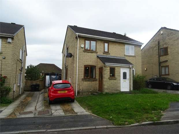 2 Bedrooms Semi Detached House for sale in Hill Brow Close, Allerton, Bradford, West Yorkshire