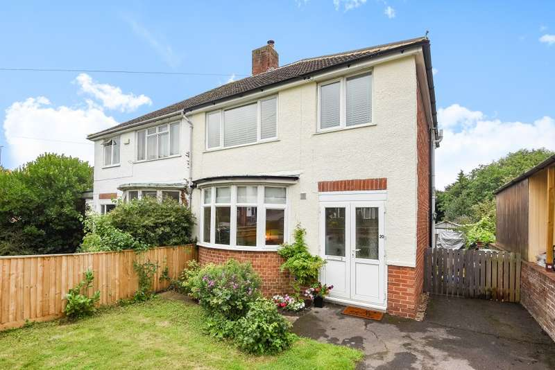 3 Bedrooms Semi Detached House for sale in Stanley Close, North Hinksey, Oxford, OX2