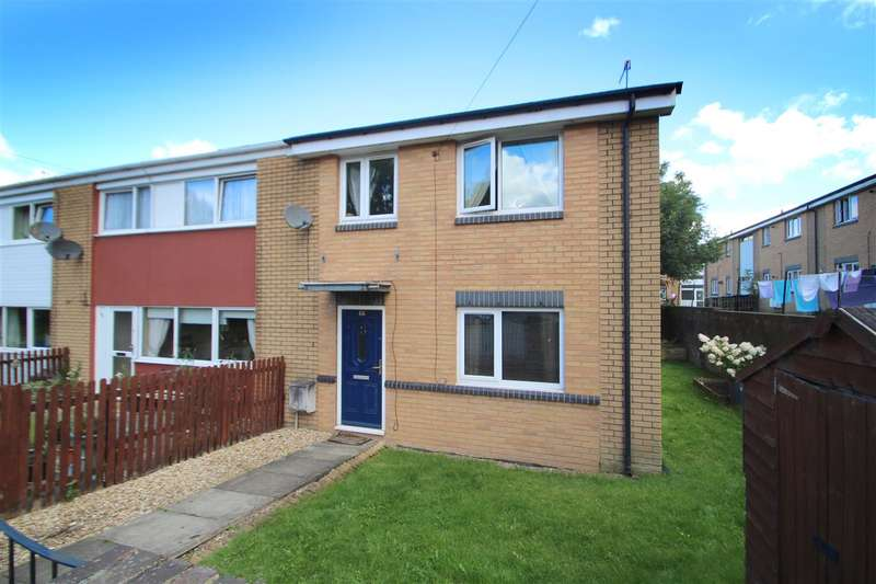 3 Bedrooms End Of Terrace House for sale in Little Bradley, Greetland, Halifax