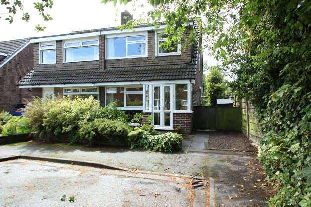3 Bedrooms Semi Detached House for sale in Astbury Close, Altrincham