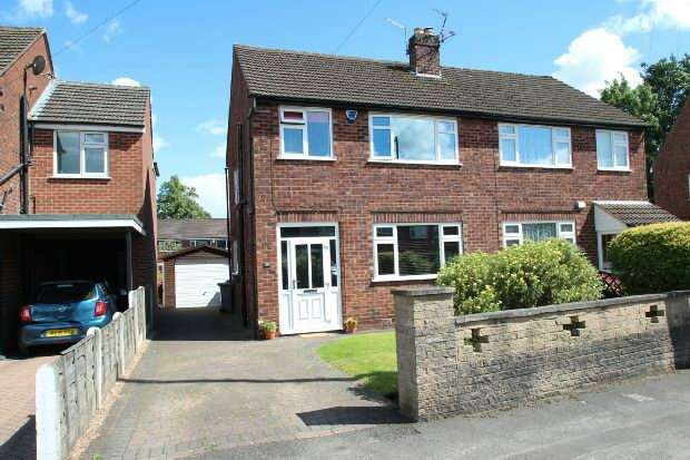 3 Bedrooms Semi Detached House for sale in Royce Avenue, Altrincham
