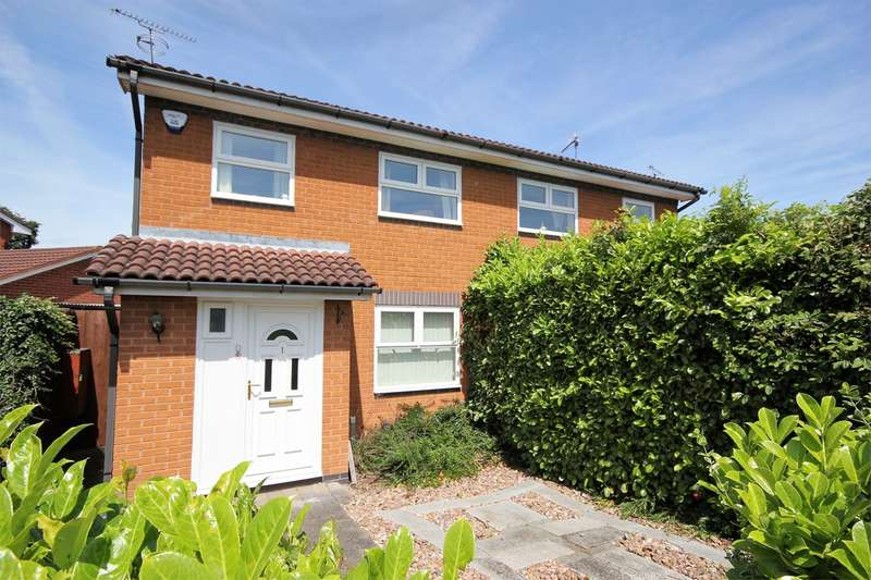 3 Bedrooms Semi Detached House for sale in Barley Crescent, Long Meadow, Worcester, WR4