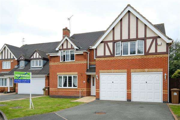 5 Bedrooms Detached House for sale in Aynsley Court, Rainhill, St Helens