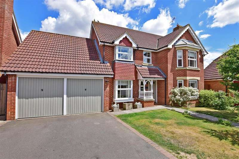 4 Bedrooms Detached House for sale in Muscovy Road, Kennington, Ashford, Kent