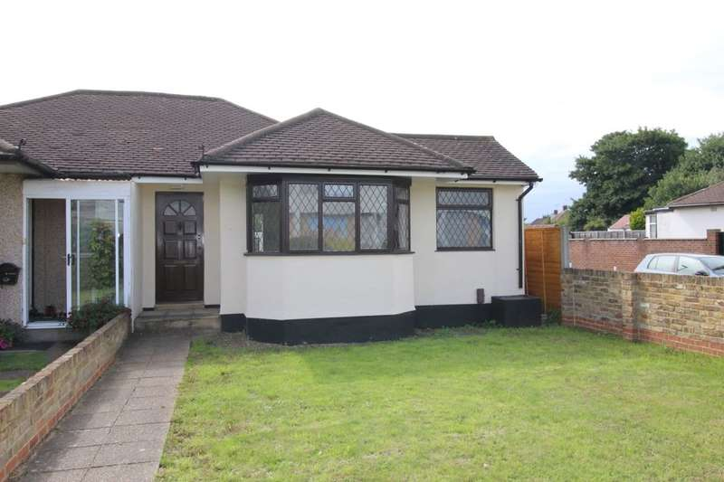 2 Bedrooms Semi Detached Bungalow for sale in Fordwater Road, Chertsey, KT16