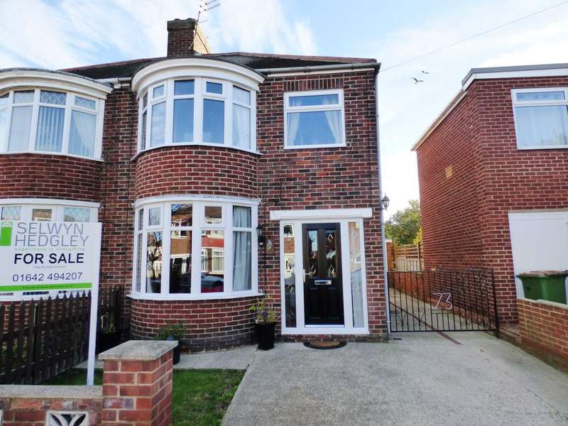 3 Bedrooms Semi Detached House for sale in ***REDUCED***Canterbury Road, Redcar