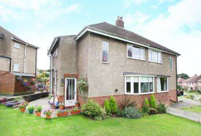 3 Bedrooms Semi Detached House for sale in Hady Crescent, Chesterfield, Derbyshire
