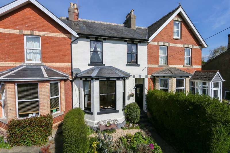 3 Bedrooms Terraced House for sale in Highweek Village, Newton Abbot