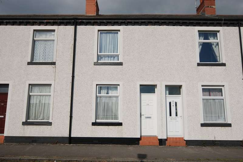 2 Bedrooms Terraced House for sale in Marsh Street, Barrow-in-Furness, Cumbria, LA14 1BQ
