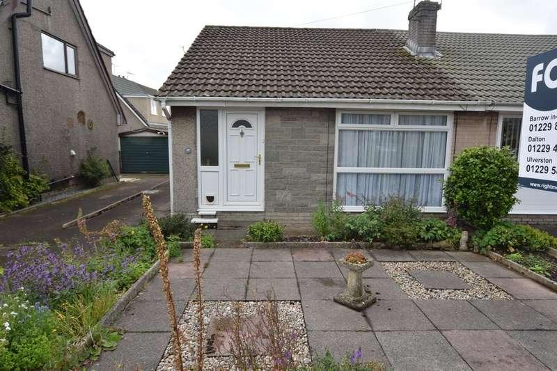 2 Bedrooms Semi Detached Bungalow for sale in Rusland Crescent, Ulverston, Cumbria, LA12 9LZ
