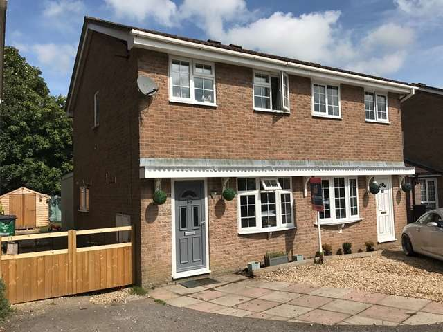 2 Bedrooms Semi Detached House for sale in Roman Way, Honiton