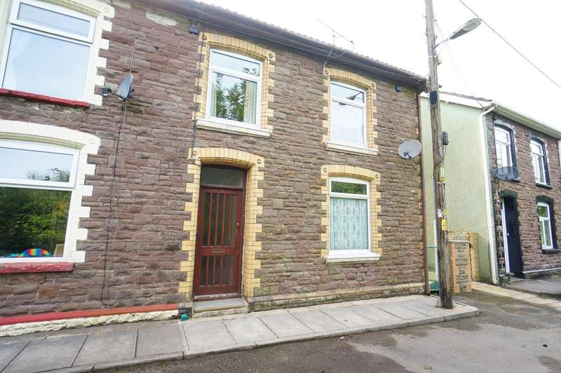 3 Bedrooms End Of Terrace House for sale in York Place, Cwmcarn, NEWPORT, NP11