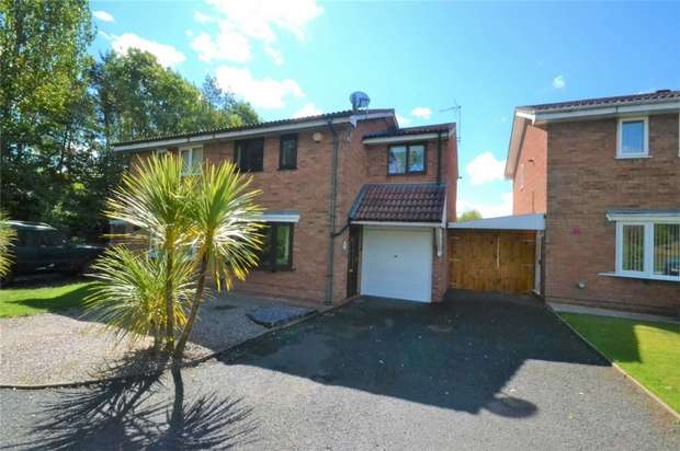3 Bedrooms Semi Detached House for sale in 90 Peveril Bank, Dawley Bank, Telford, Shropshire