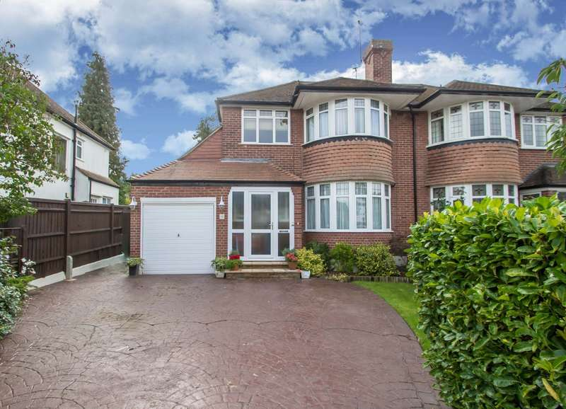 3 Bedrooms Semi Detached House for sale in Langley Oaks Avenue, Sanderstead, CR2 8DL