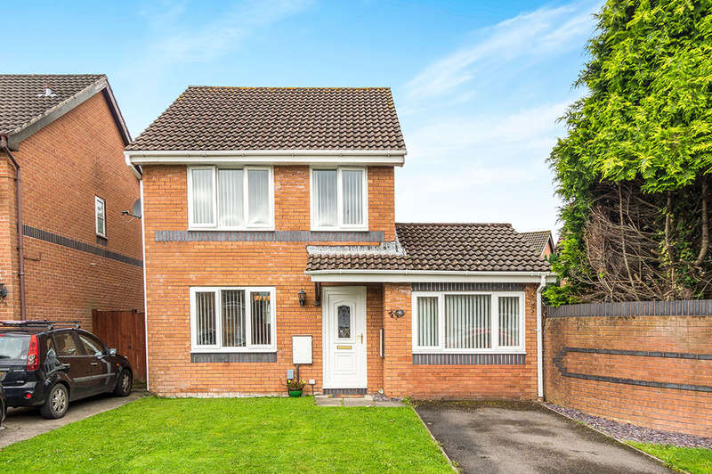 3 Bedrooms Detached House for sale in Llys Baldwin, Gowerton, Swansea