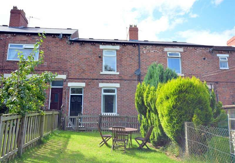 3 Bedrooms Terraced House for sale in Millbank Terrace, Eldon Lane, Bishop Auckland, DL14 8TE