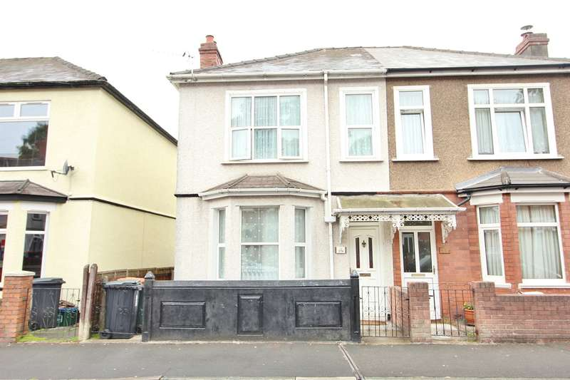 3 Bedrooms Semi Detached House for sale in Aston Crescent, Newport, NP20