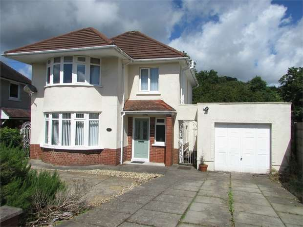 3 Bedrooms Detached House for sale in Cimla Crescent, Cimla, Neath, West Glamorgan