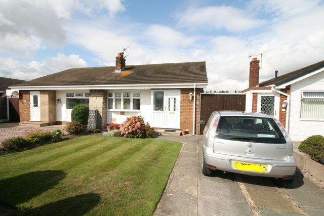 2 Bedrooms Bungalow for sale in Kingston Crescent, Marshside, Southport, PR9 9YH
