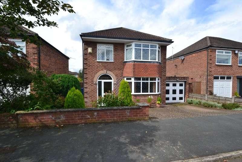 3 Bedrooms Detached House for sale in Hartington Drive, Hazel Grove, Stockport SK7 6ER