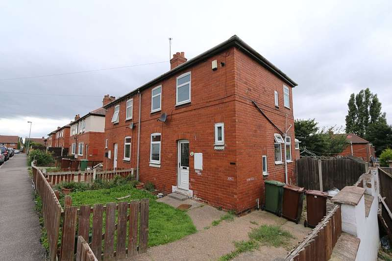 2 Bedrooms Semi Detached House for sale in John Street, South Elmsall, Pontefract, West Yorkshire, WF9 2QY