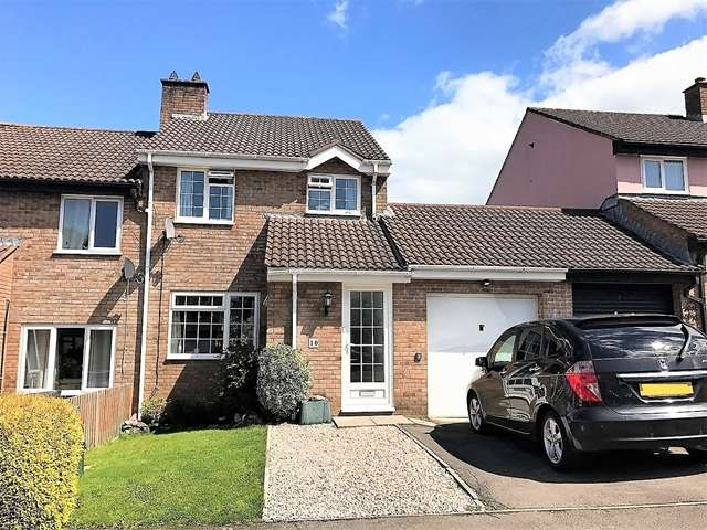 4 Bedrooms Semi Detached House for sale in Redwood Close, Honiton
