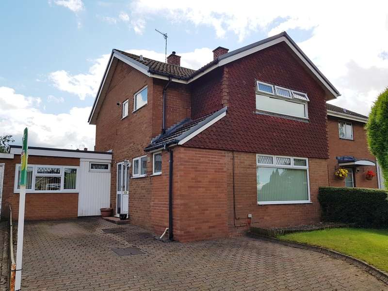 4 Bedrooms Semi Detached House for sale in Llanyravon Way, Llanyravon, Cwmbran