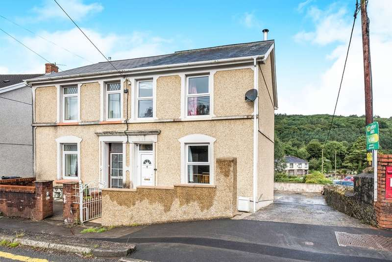 3 Bedrooms Semi Detached House for sale in Neath Road, Crynant, Neath