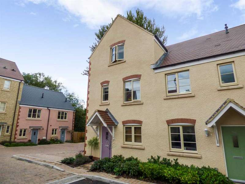 4 Bedrooms End Of Terrace House for sale in Britannia Mews, Wotton Under Edge