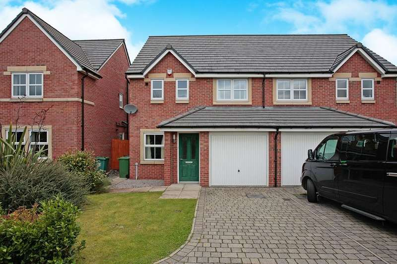 3 Bedrooms Semi Detached House for sale in Jack Watt Close, Carlisle, CA1