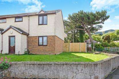 3 Bedrooms End Of Terrace House for sale in Llys Sambrook, Penmaenmawr, Conwy, North Wales, LL34