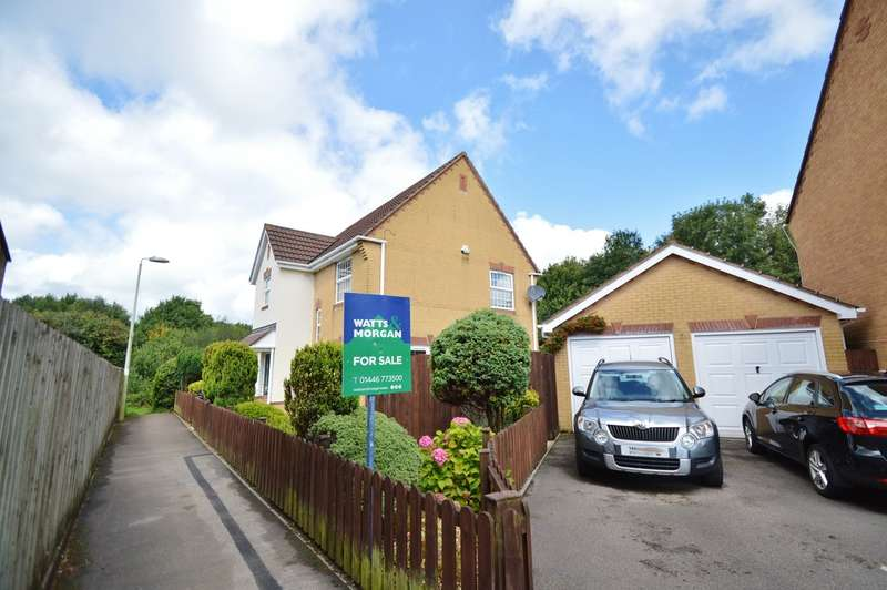 4 Bedrooms Detached House for sale in Rowan Tree Lane, Miskin, CF72 8SF