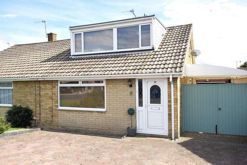 2 Bedrooms Semi Detached Bungalow for sale in Byward Drive, Crossgates, Scarborough, North Yorkshire YO12 4JF