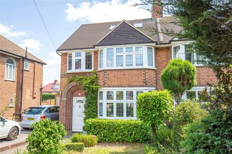 5 Bedrooms Semi Detached House for sale in Wolstonbury, Woodside Park, London, N12