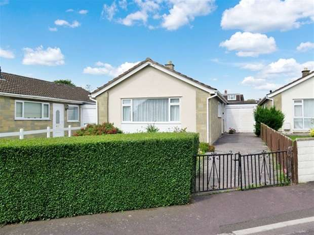 3 Bedrooms Detached Bungalow for sale in Mullins Close, Wells