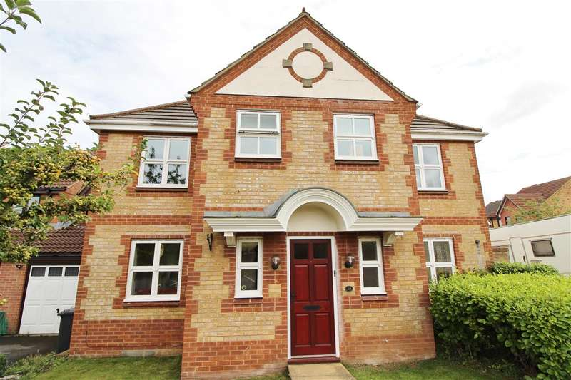 4 Bedrooms Detached House for sale in Home Field Close, Bristol