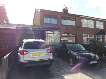 3 Bedrooms Semi Detached House for sale in Kelsall Avenue, Sutton Manor, St. Helens, Merseyside, WA9