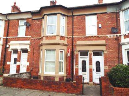 2 Bedrooms Flat for sale in Trevor Terrace, North Shields, Tyne and Wear, NE30