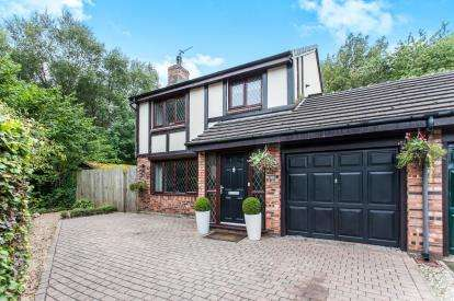 3 Bedrooms Detached House for sale in Gilderdale Close, Birchwood, Warrington, Cheshire
