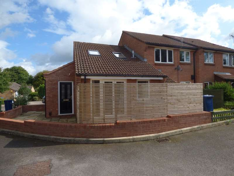 1 Bedroom End Of Terrace House for sale in Dowding Way, Churchdown, Gloucestershire, GL3