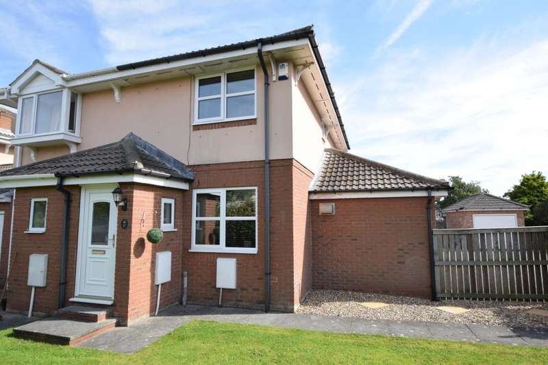 2 Bedrooms Semi Detached House for sale in Signals Court, Scarborough, North Yorkshire YO12 6QG