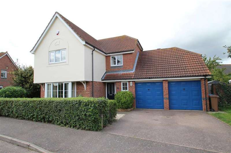 4 Bedrooms Detached House for sale in The Lloyds, Grange Farm, Kesgrave, Ipswich