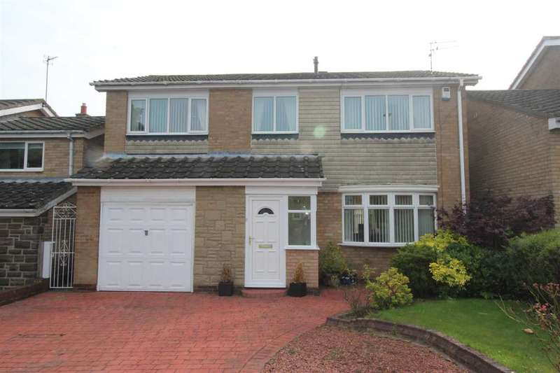 4 Bedrooms Detached House for sale in Twyford Close, Parkside Grange, Cramlington