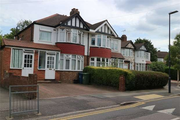 4 Bedrooms Semi Detached House for sale in Walton Drive, Harrow, Greater London