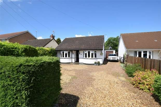 4 Bedrooms Detached Bungalow for sale in Overstone Road, Sywell, NORTHAMPTON