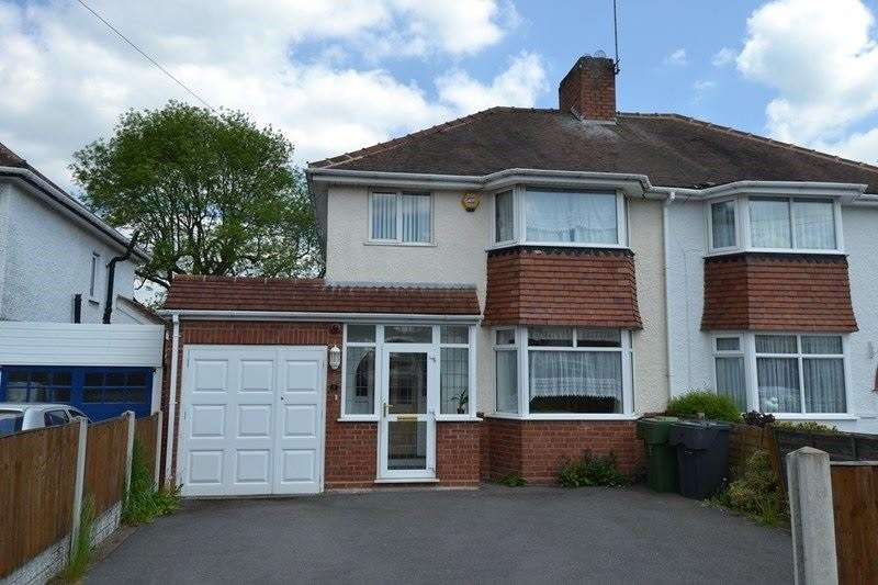 3 Bedrooms Semi Detached House for sale in Meadowfield Road, Rubery, Birmingham
